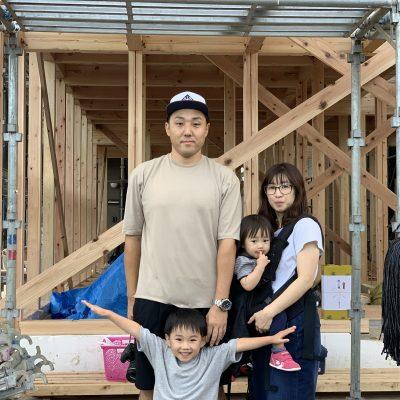 埼玉県久喜市『つながりの家』上棟いたしました!